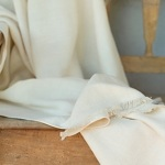 Cream Colored Linen Throw by LinenMe, Chispa Magazine