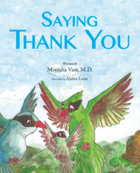 Spring Bookworm-Saying Thank You book cover-Chispa Magazine